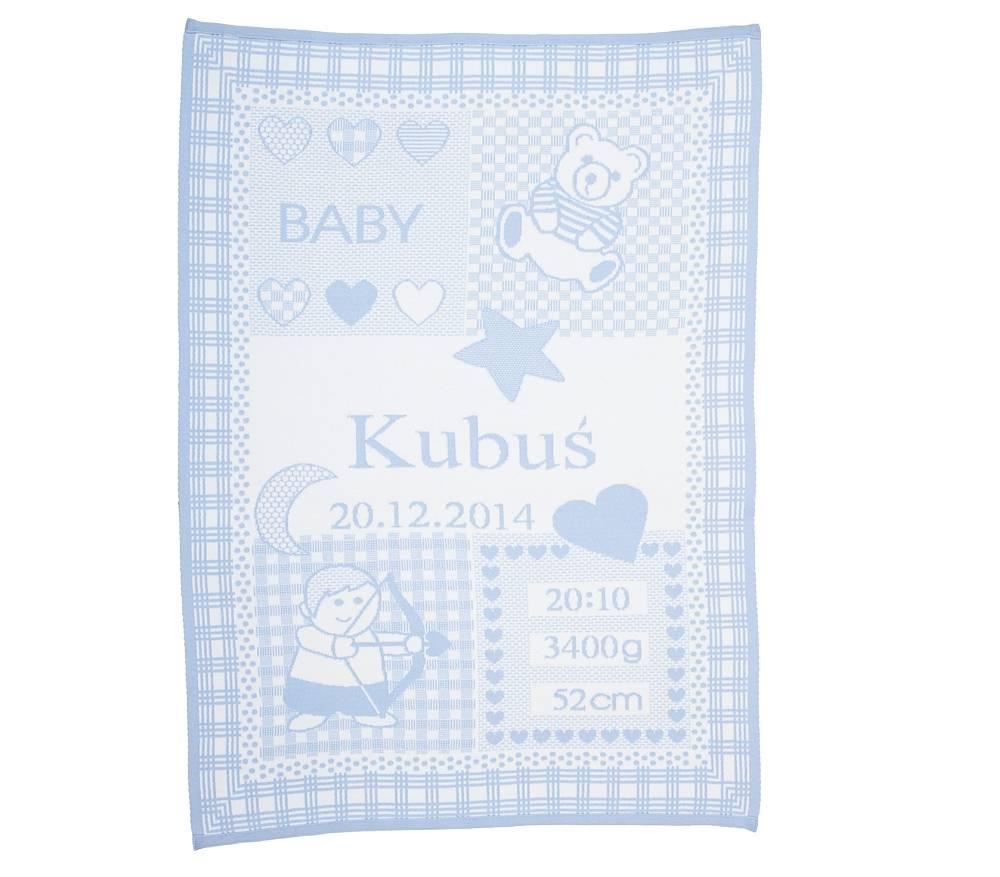 Doppresent babyfilt med stjärntecken Skytten
