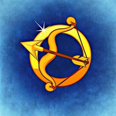 Illustration av stjärntecknet Skytten