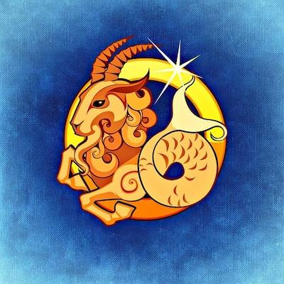 Illustration av stjärntecknet Stenbocken
